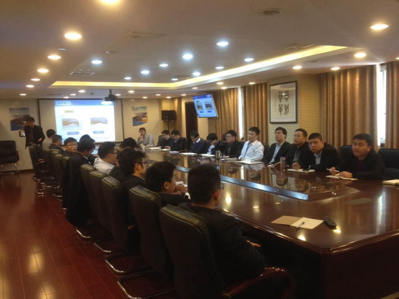 中捷通受邀参加太平洋财险公司举行的低碳修复技术交流会